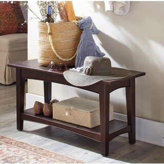 Fair Haven Entryway Bench with Shelf