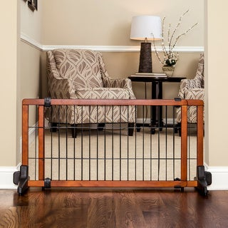 Carlson Pet Products Free-standing Wooden Pet Gate