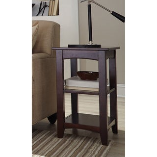 Copper Grove Daintree 2-shelf Wood End Table