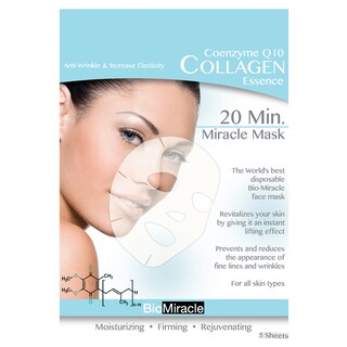 BioMiracle Anti-aging Moisturizing Collagen Face Masks (5 Count)