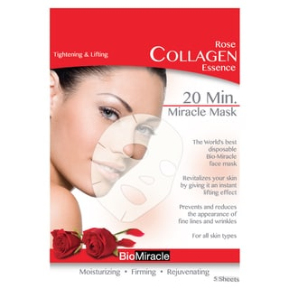 BioMiracle Anti-aging Moisturizing Rose Essence Face Masks (Pack of 5)