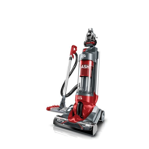 Shop Dirt Devil Ud70250b Dash Dual Cyclonic Upright Bagless Vacuum With Vac Dust Floor Tool Overstock 9009841