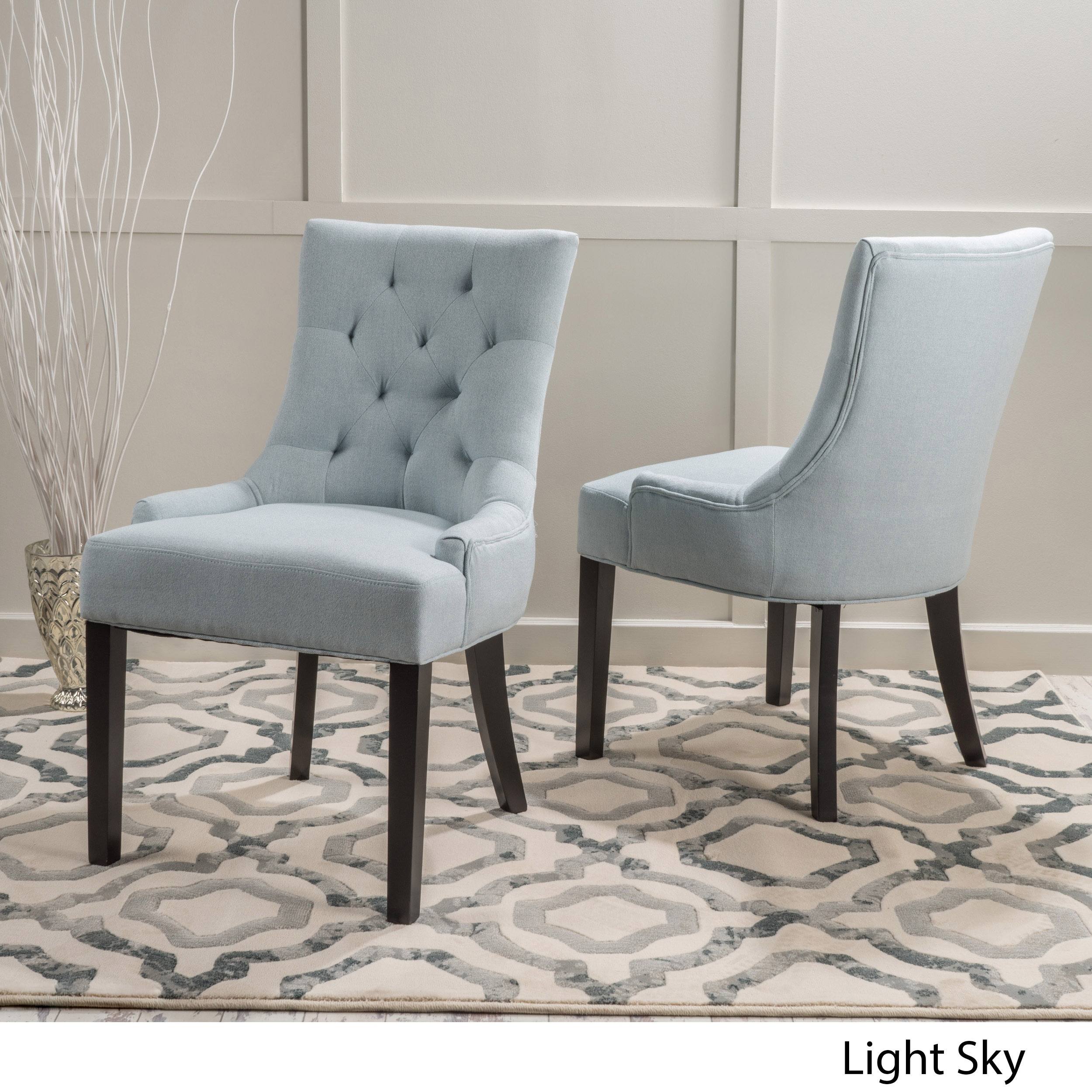 Dining Room Chairs Fabric: Find The Best Daily Deals On Overstock.com