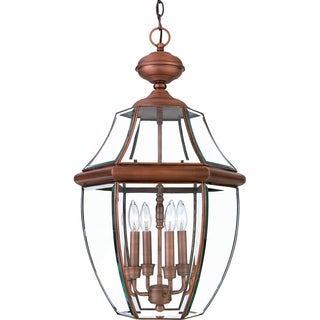 Newbury Aged Copper Finish Extra-large Hanging Lantern