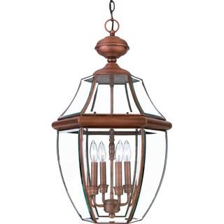 Quoizel Newbury Aged Copper Finish Extra-large Hanging Lantern