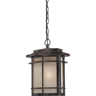Galen Large 1-light Imperial Bronze Outdoor Hanging Lantern