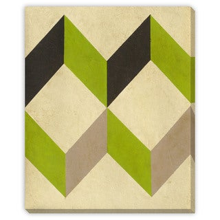 Gallery Direct Geometric Conclusion IV Canvas Gallery Wrap Wall Art
