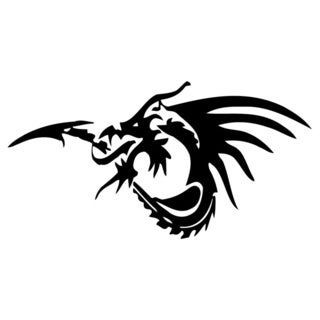 Dragon Vinyl Wall Decal 6