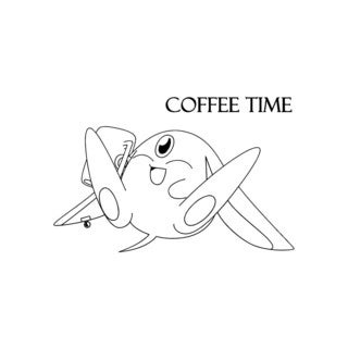 Coffee Time Vinyl Wall Decal