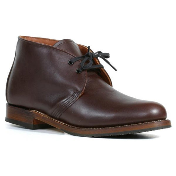 e2e3c9f9c1019 Shop Red Wing Heritage Men's 'Beckman Chukka' Cigar Leather Ankle ...