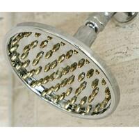 Rainfall 6-inch Chrome/ Polished Brass Shower Head