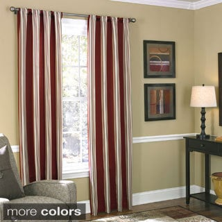Grand Luxe Northfield Rod Pocket 84-inch Curtain Panel