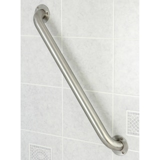 Stainless Steel 24-inch Commercial Grade Grab Bar - Silver