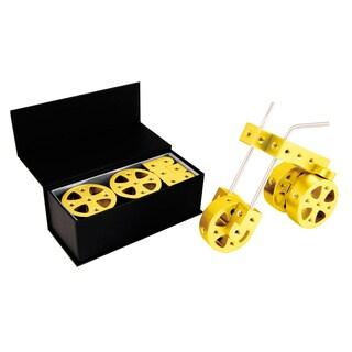 Playable Metal Yellow Gold Car (Model F)