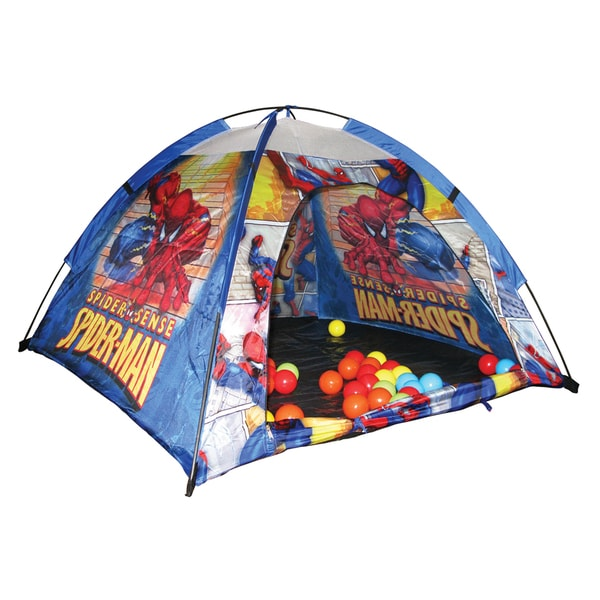 Spiderman Ball Pit Tent with 24 Balls