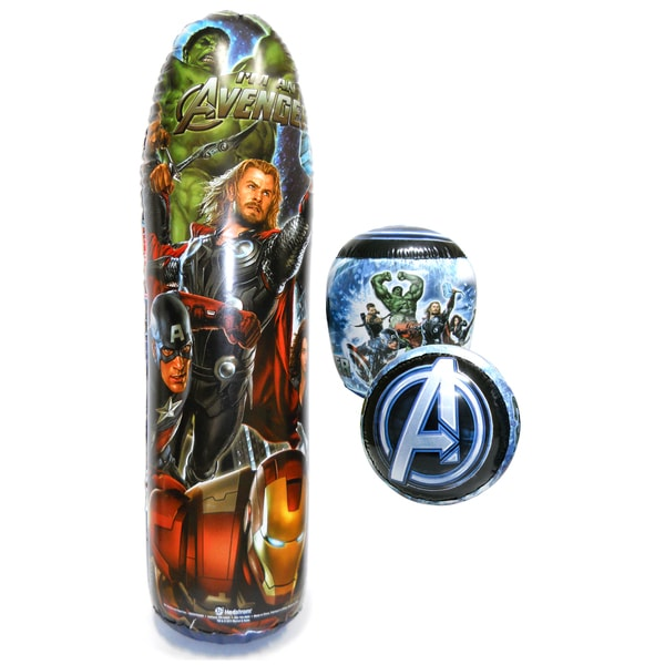 Avengers 36-inch Bop Bag with Gloves
