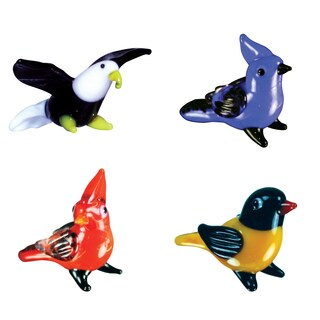 Looking Glass Pretty Birds Miniature Figures