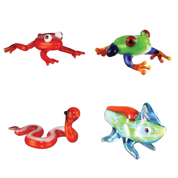 Looking Glass Reptile-themed Miniature Figures