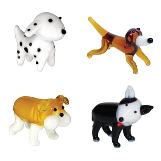 Looking Glass Dog-themed Miniature Figures