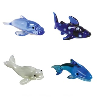 Looking Glass Whale-themed Miniature Figures