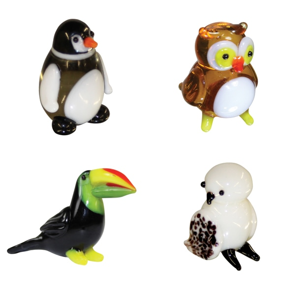 Looking Glass Big Birds Miniature Figures