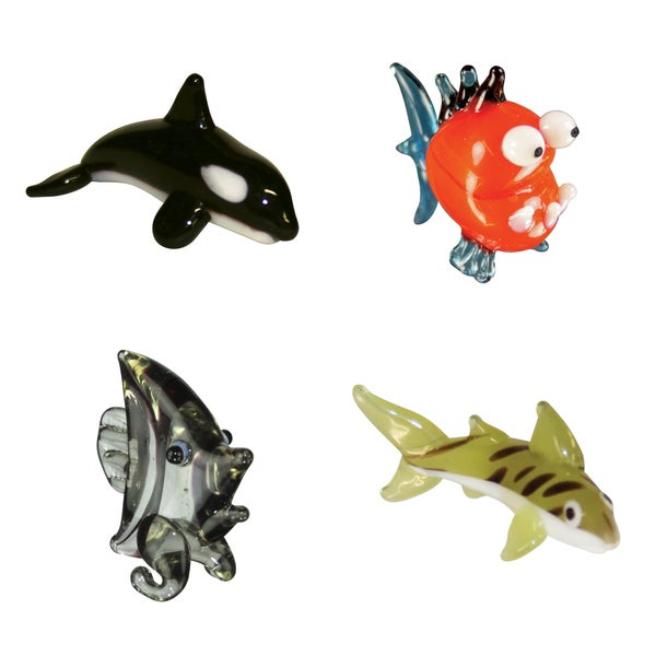Looking Glass Sea-themed Miniature Figures