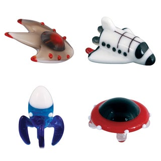 Looking Glass Space-themed Miniature Figures