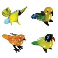 Looking Glass Exotic Birds Miniature Figures