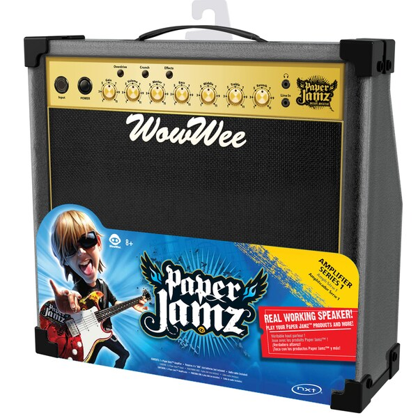 Paper Jamz Black and Gold Amplifier