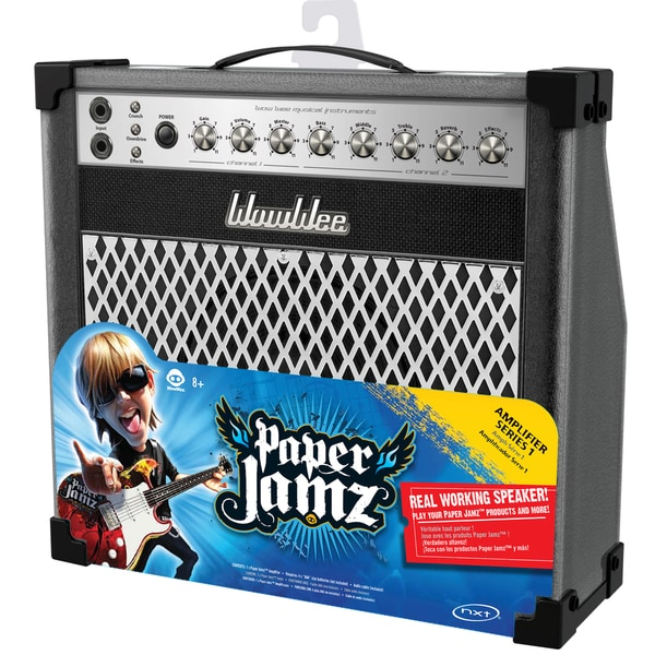 Paper Jamz Black and Silver Amplifier
