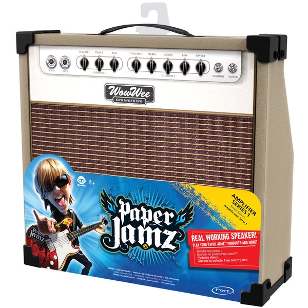Paper Jamz Brown and White Amplifier