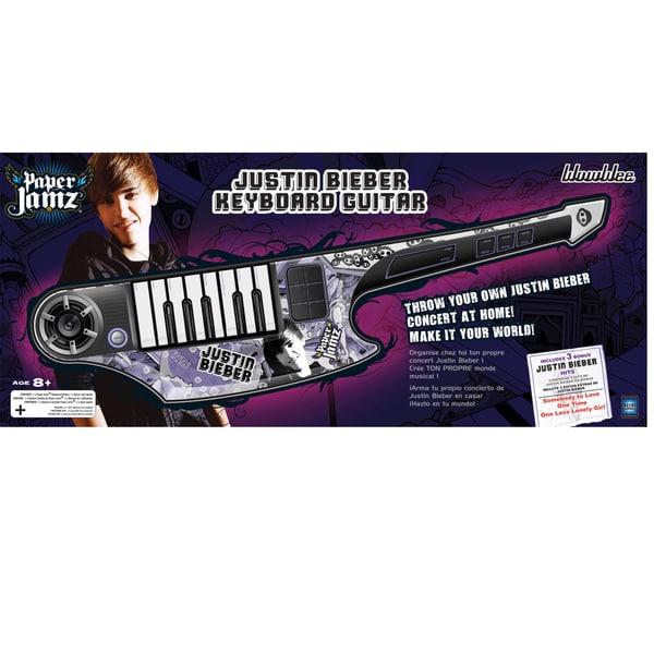 Paper Jamz Justin Beiber Keyboard Guitar