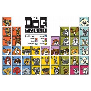 Angry Squirrel Studio 'The Dog Table ' Canvas Art