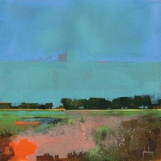 Paul Bailey 'Empty Sky' Canvas Art