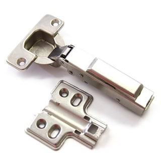 Frameless European Concealed Hydraulic Soft Close Hinge Set