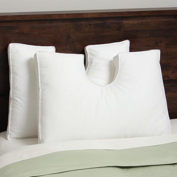 Hotel Madison Down Alternative Enrapture U-Neck Pillow (Set of 2)