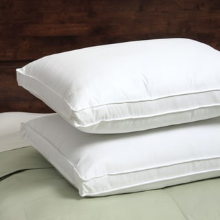 Spring Air 300 Thread Count Won't Go Flat Density Pillow (Set of 2) (Option: King)