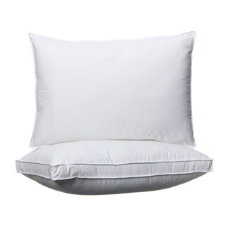 Spring Air 300 Thread Count Won't Go Flat Density Pillow (Set of 2) (3 options available)