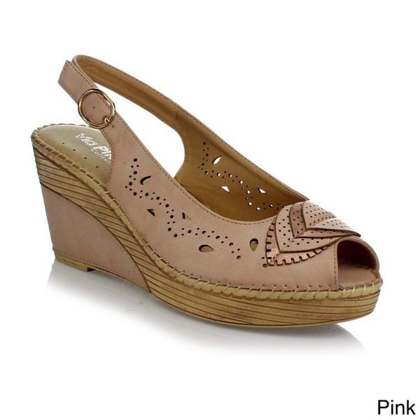 Via Pinky Women's 'Tilly-28' Slingback Wedge Sandals