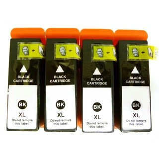 Dell V525w V725w Compatible Black Ink Cartridge Set (Pack of 4)