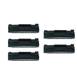 5-PK Compatible HP CB435A 35A Toner Cartridge for HP LaserJet P1002 P1003 P1004 P1005 P1006 P1009 Printers