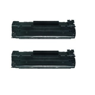 HP 85A CE285A Compatible LaserJet Toners (Pack of 2)