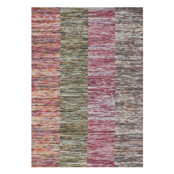 Alliyah Handmade Braided Striped New Zealand Wool Rug (5' x 8')