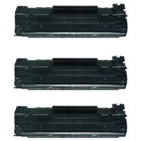 HP 85A CE285A Compatible LaserJet Toners (Pack of 3)