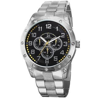 Joshua & Sons Men's Multifunction Sunray Dial Bracelet Watch with FREE GIFT|https://ak1.ostkcdn.com/images/products/9012267/Joshua-Sons-Mens-Multifunction-Sunray-Dial-Bracelet-Watch-P16214339.jpg?impolicy=medium