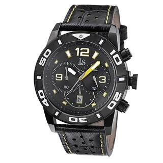 Joshua & Sons Men's Bold Chronograph Leather Strap Watch with FREE GIFT|https://ak1.ostkcdn.com/images/products/9012280/Joshua-Sons-Mens-Bold-Chronograph-Leather-Strap-Watch-P16214359.jpg?impolicy=medium