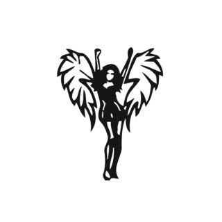 Dancing Angel Girl Vinyl Wall Art