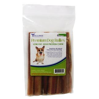 "Premium Bully Pizzle Dog Treat Chews - 6"" - Multi"
