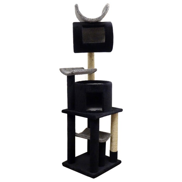 New Cat Condos Solid Wood Play Station Cat Tree