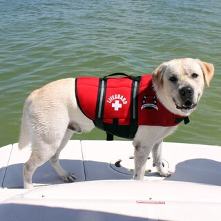 Paws Aboard Neoprene Doggy Red Life Jacket (5 options available)